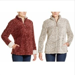 Weatherproof Jackets & Coats - WEATHERPROOF VINTAGE LADIES' FROST TIPPED SHERPA